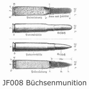 JF008 Büchsenmunition