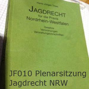 Plenarsitzung Jagdrecht NRW